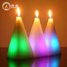 Rainbow Color Changing LED Wax Candles Burn Different Colors for Christmas