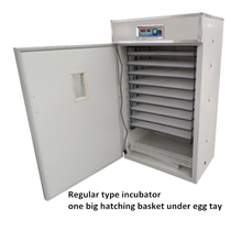 Automatic 1584 egg incubator chicken hatchery for sale