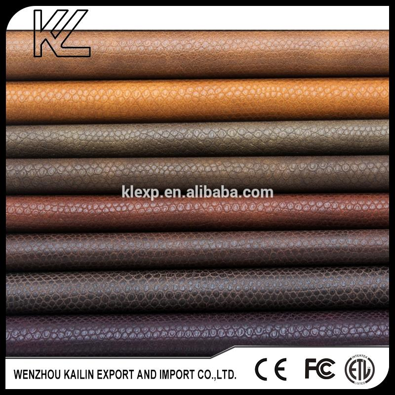 Hot selling high quality 100 pu synthetic leather for wholesales