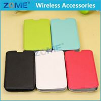 China Wholesale Market Leather Wallet Case Flip Cover With Credit Card Id Holder For Samsung S4/I9500