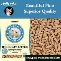 Economical and Durable Premium Wood Base Product Kitty Sand