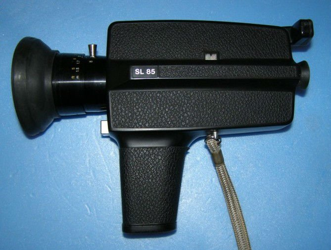 Rolley Sl85 Camera 8mm Film