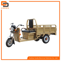 3 wheel new high power electric cargo tricycle with carbin/van for sale