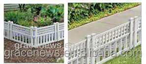 Decorative Garden Border Edging Landscape Border Fence