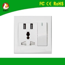 uk/us/eu/au/ universal usage Wall Socket Type and commercial application usb wall socket
