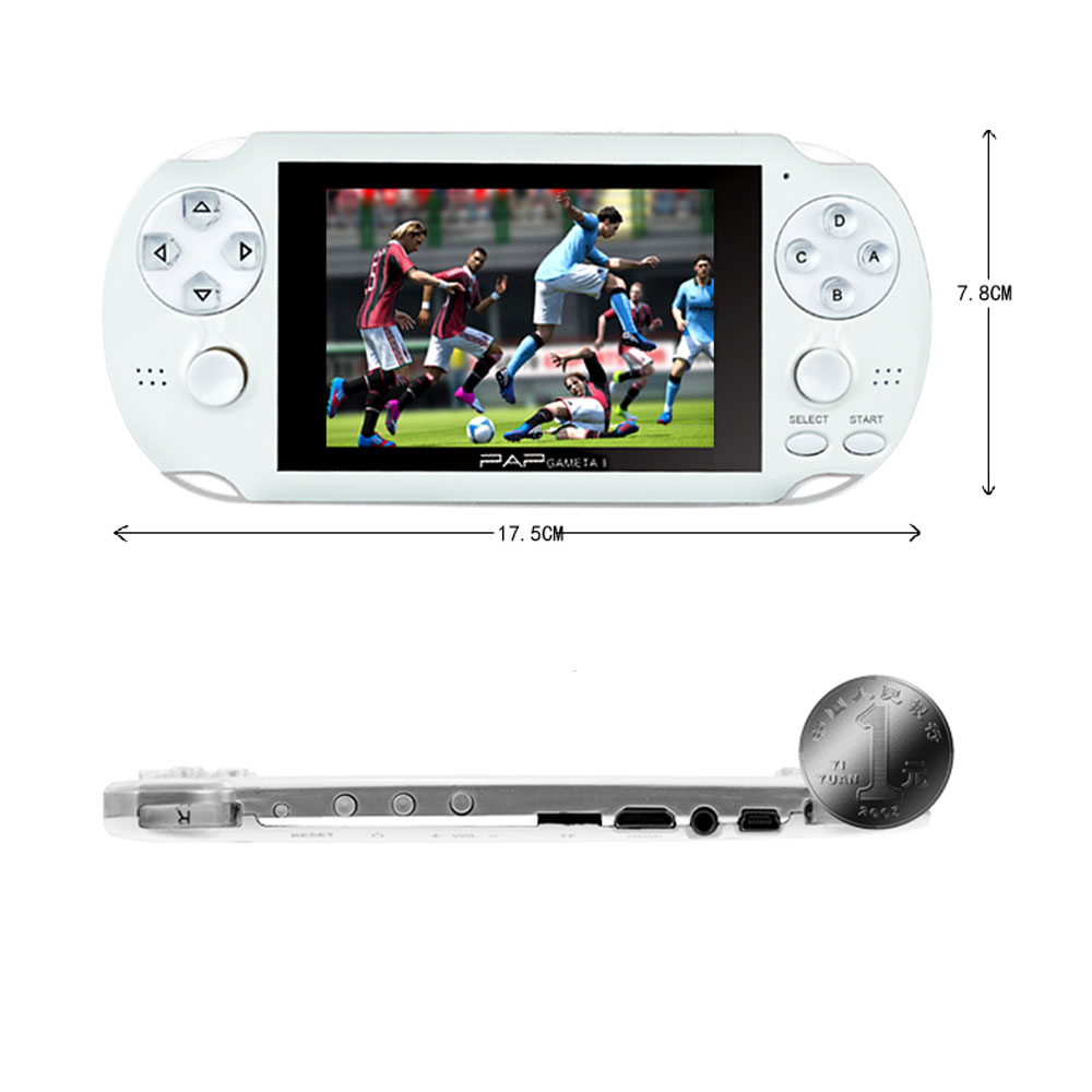 handheld 4.3 inch pocket kids video game console for PAP-Gameta