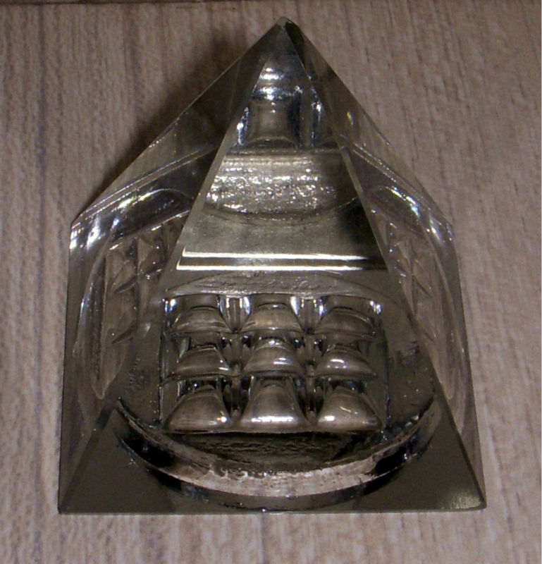Glass Crystal Pyramid
