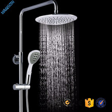 ABS Chrome 8inch Square Good Quality Hydro Wall-mounted Shower Head