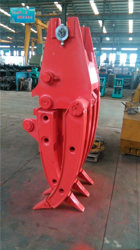 Excavator Grab Excavator Grapple High quality manual or hydraulic