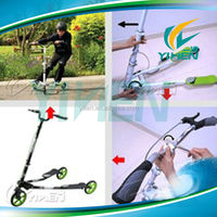 Folding swing scooter for sale