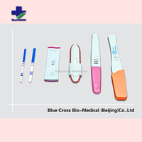 High Sensitivity Super Accuracy Short Reading Time Easy One Step Strip HCG Urine Pregnancy Test Kit With CE And FDA Certificate