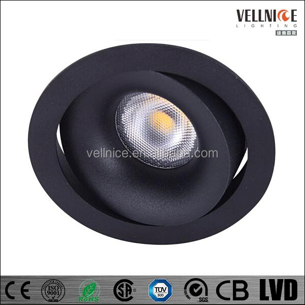IP54 7w Led down light,cob led downlight price,led light downlight
