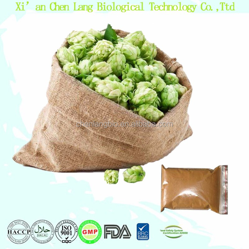 100% Pure Nature Flavonoids and Ketone of Humulus Lupulus Hops Extract 10:1
