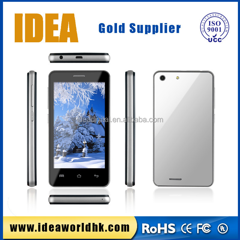 low price big screen Dual core wireless android wifi 4 inch LCD screen smart mobile phone