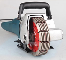high quality 4800w concrete cutting wall chaser blade machine