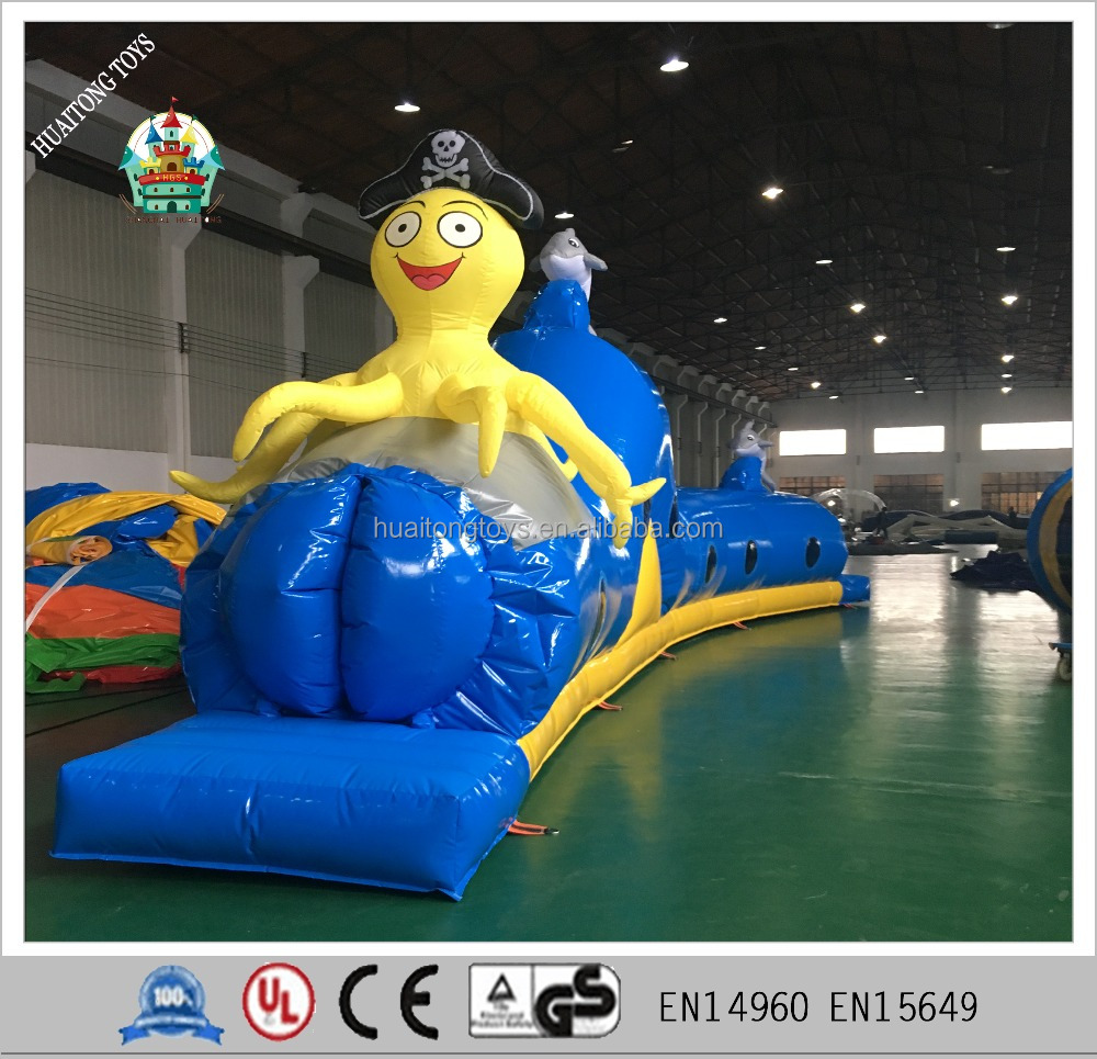 inflatable tunnel game for kids