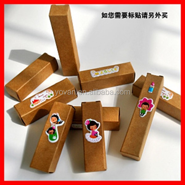 Professional Custom Small Rectangle Corrugated paper Special Lip stick Gift Packaging box