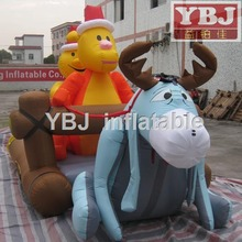 inflatable christmas animal cartoon
