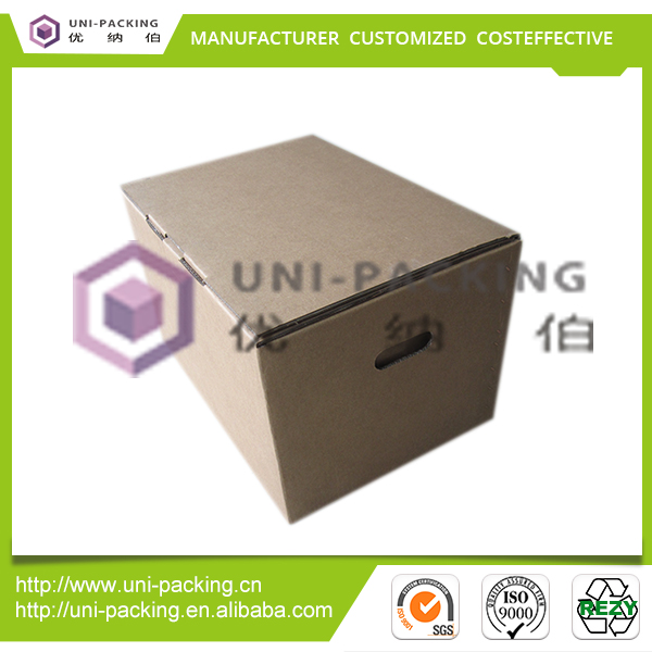 2016 Hot sale house moving customized size paper carton/shipping box for packaging storage