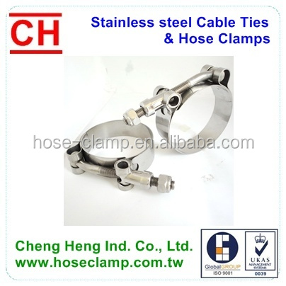 American type Automative Hydraulic Hose Clamp Worm Gear Hose Clamp