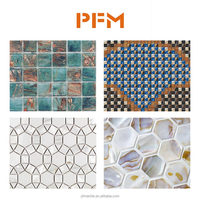 Cheap Different Types Wall Mosaic Tiles