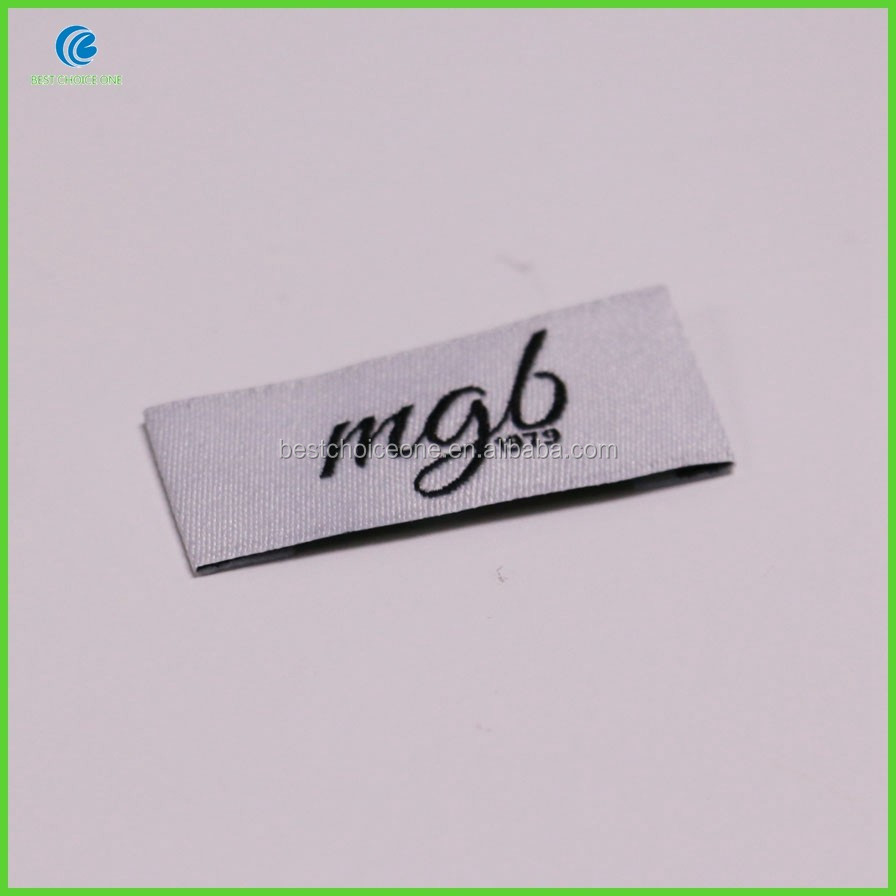 Custom Heat Cut Woven Label/Designer Brand Labels For Clothing Label