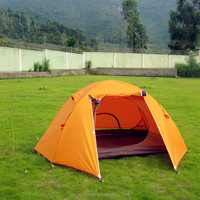 Double Layers Outdoor Camping Tent with Aluminum pole