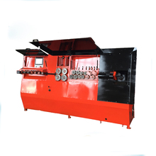 Single And Double Wire CNC stirrup bender , Automatic Rebar Stirrup Bending Machine