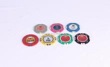 Free Sample Poker Chips with Printed Logo for Promotion