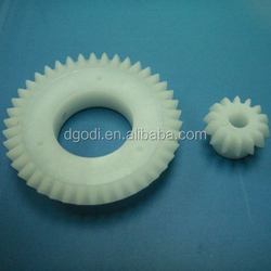 China oem custom size molding small plastic pinion gear for toy
