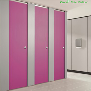 compact laminate toilet cubicles / restroom toilet partition board