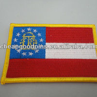 High Quality Flag Shape Design Patches