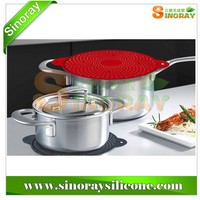 Multi-function Silicone Kitchen Utensils/Spill-proof Pot Cover/Pot Holder
