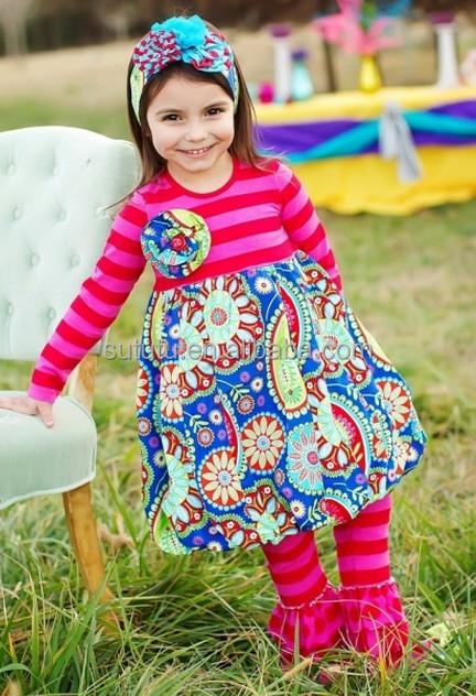 wholesale children's boutique clothing kids red &striped 3pcs ...