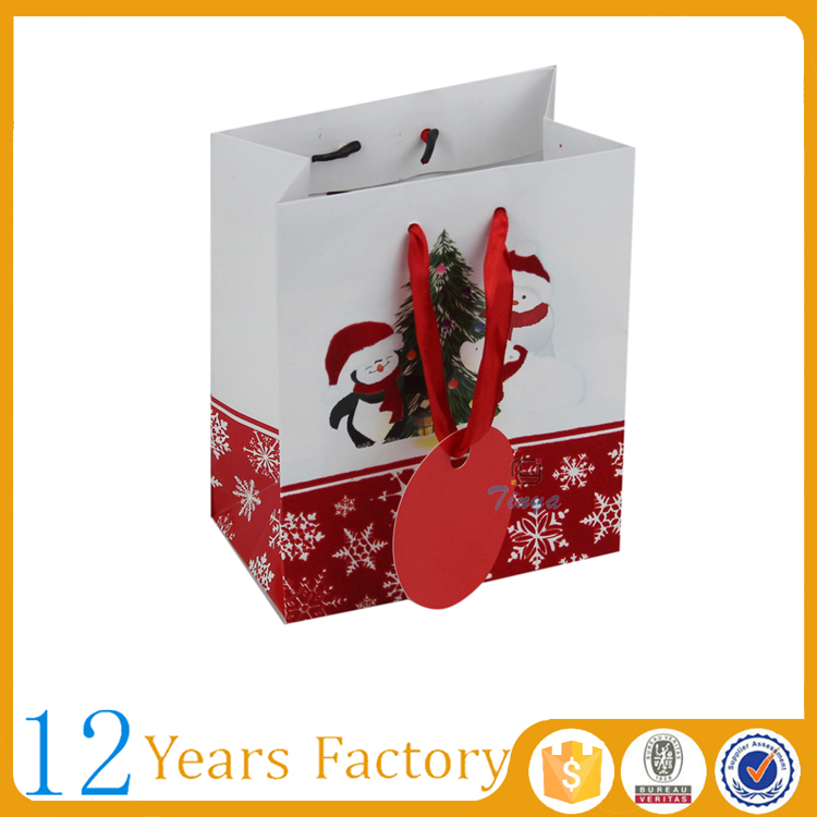 christmas decorative handmade paper gift bags