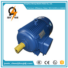 132kw 180hp ac 110v 50hz IP54 8 pole induction electric motor for maize grinding mill