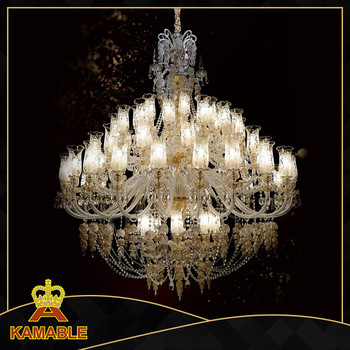 gorgeous hotel glass crystal lamp