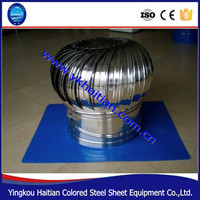 2015 New Ventilation Fans Stainless Steel Turbine Ventilator Industrial Roof Exhaust Fan For Warehouse