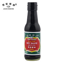 Premium Low-Sodium and NON-MSG Light Soy Sauce