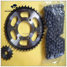 High Quality 45# Steel PULSAR 180CC 428/428H/124L/44T/15T Motorcycle Chain Sprocket Kit