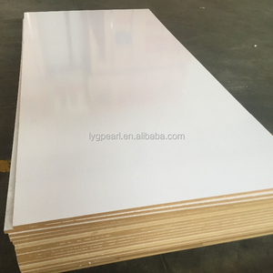 Titanium white melamine board mdf for furniture