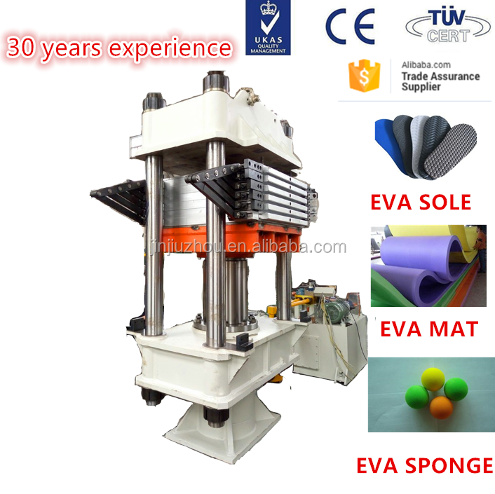 eva foaming sole vulcanizing machine and shoe sole making machine XLB-1350*1700 /1100 Ton