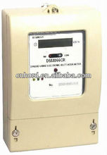 DTS866 Three Phase Four Wire Electronic Active Energy Meter with RS485 Communication