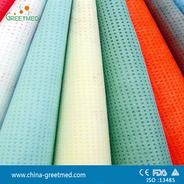 cheap price china sms pp spunlace nonwoven fabric manufacturer