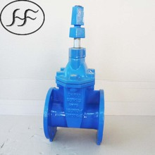 BS5163 resilient seal non-rising stem nodular cast iron sewage gate valve