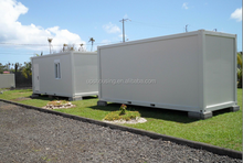 luxury container homes 20ft prefab shipping tiny house foam concrete house