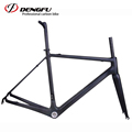 DENGFU new Di2 super light 700c carbon fiber road bike frame R01 2017