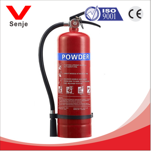 5kg abc dry chemical fire extinguisher for residential used