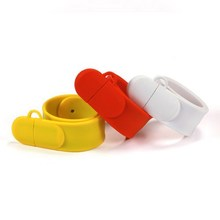 High quality wristband usb drive free sample bracelet usb memory 32gb usb flash drive