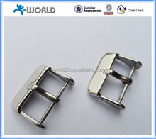 Any kind polished or sand blasted stainless steel watch strap buckle made in China